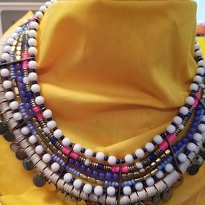 Jewelry - Cleopatra design six strand necklace.